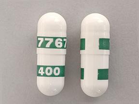 Celebrex 400 mg cápsula mostrada